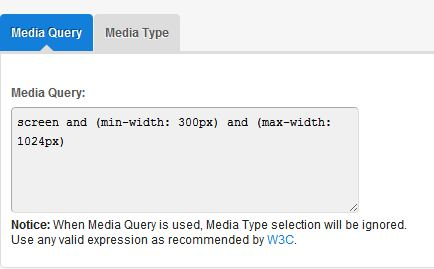 Media Queries Textarea